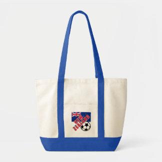 NEW ZEALAND World Soccer Fan Tshirts Tote Bag