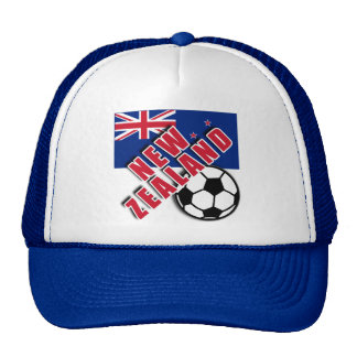 NEW ZEALAND World Soccer Fan Tshirts Trucker Hat