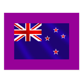 New Zealanders flag of New Zealand Kiwi gifts Postcard