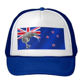 New Zealands Kiwis All Whites soccer gifts Trucker Hat