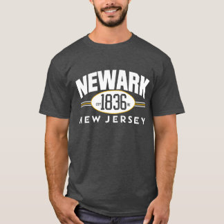 NEWARK 1836 NEW JERSEY City Incorporated Tee