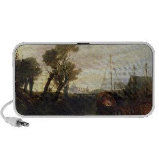 Newark Abbey, 1807 (oil on canvas) Travel Speaker