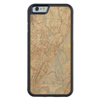 Newark and Paterson, New Jersey Carved® Maple iPhone 6 Bumper Case