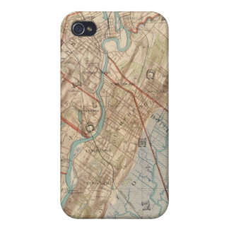 Newark and Paterson, New Jersey Cover For iPhone 4