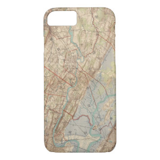 Newark and Paterson, New Jersey iPhone 7 Case