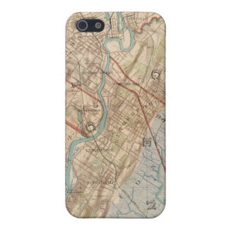 Newark and Paterson, New Jersey iPhone SE/5/5s Cover