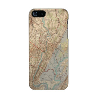 Newark and Paterson, New Jersey Metallic iPhone SE/5/5s Case