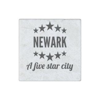 Newark cinco Star City Imán De Piedra