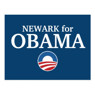 NEWARK for Obama custom your city personalized Postcard