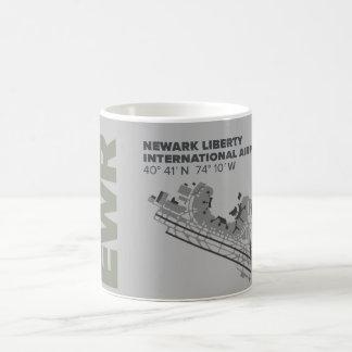Newark Liberty Airport (EWR) Diagram Mug