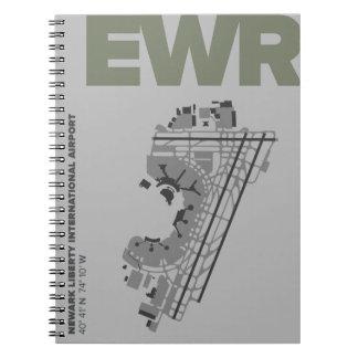Newark Liberty Airport (EWR) Diagram Notebook