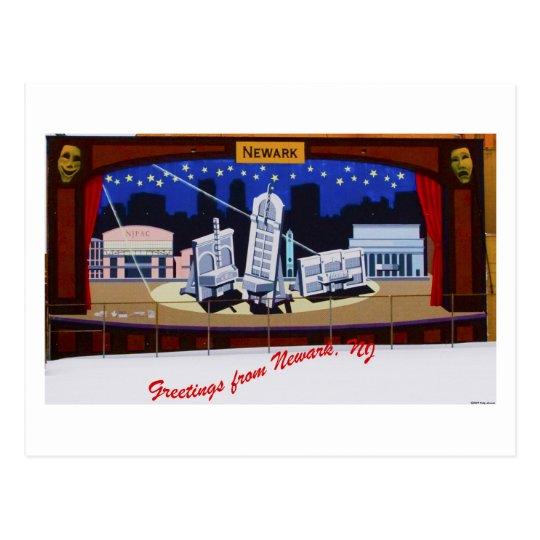 Newark Mural Postcard