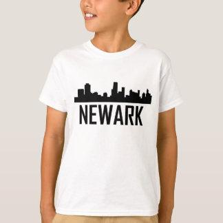 Newark New Jersey City Skyline T-Shirt
