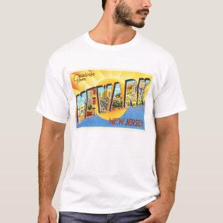 Newark New Jersey NJ Vintage Travel Postcard- T-Shirt