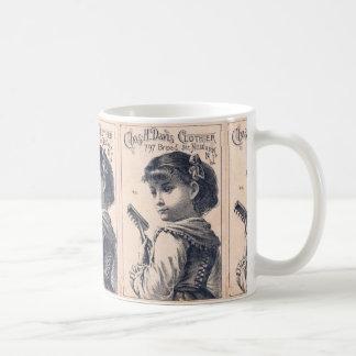 Newark New Jersey Vintage Clothier Ad Mug