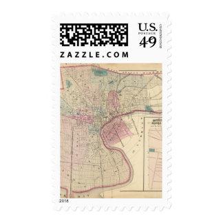 Newark, NJ Timbre Postal