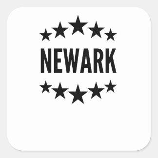 Newark Pegatina Cuadrada