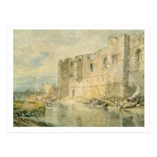Newark-sobre-Trent, c.1796 (w/c sobre el grafito Tarjeta Postal