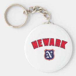 Newark Throwback Keychain