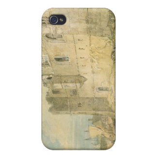 Newark-upon-Trent, c.1796 (w/c over graphite on pa iPhone 4 Case