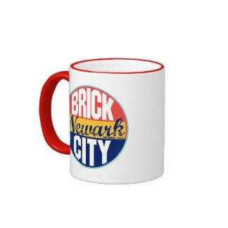 Newark Vintage Label Coffee Mugs