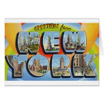 newartsweb - Greetings from New York.  Card