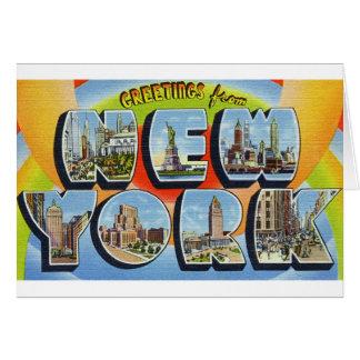 newartsweb - Greetings from New York Card