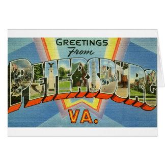 newartsweb - Greetings from Petersburg VA Card