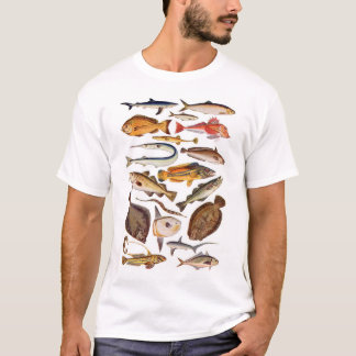 newartsweb - So Many More Fish, So Little Time T-Shirt