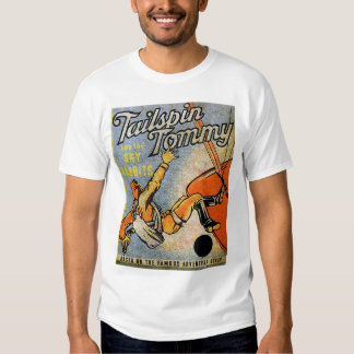newartsweb - Tailspin Tommy and the Sky Bandits  Tee Shirt