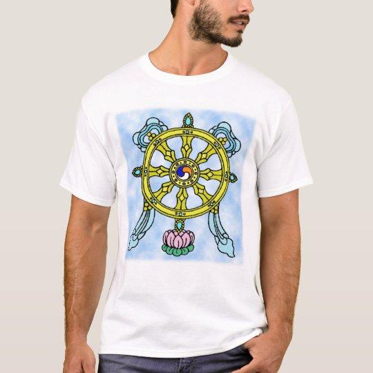 newartsweb - The Eight Spoked Wheel T-Shirt