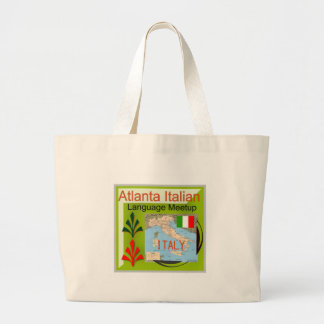 NewAtlanta Italian Language Meetup Canvas Bag
