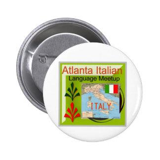 NewAtlanta Italian Language Meetup Pin