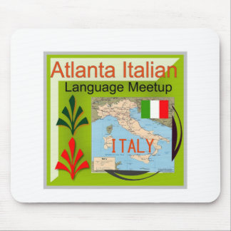 NewAtlanta Italian Language Meetup Mouse Pad