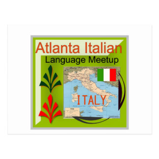 NewAtlanta Italian Language Meetup Post Cards
