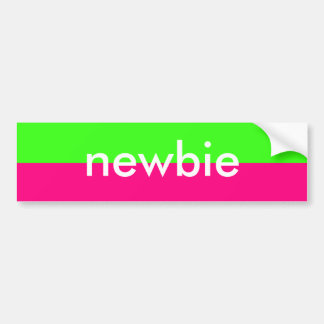 Newbie Neon Sticker