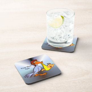 Newborn Baby Arrival - A Stork Delivery Coaster