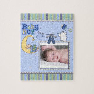 Newborn - Baby Boy Jigsaw Puzzle