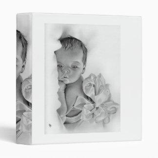 Newborn Baby Gift Avery Binder