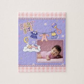 Newborn - Baby Girl Jigsaw Puzzle