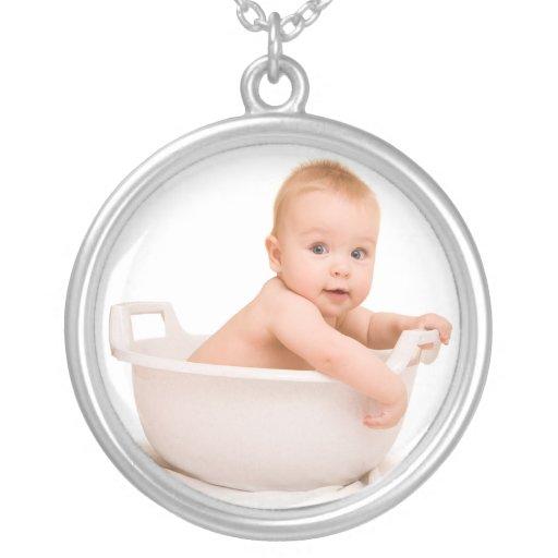 Newborn Baby Keepsake Charm Necklace