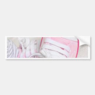 newborn baby shoes bumper sticker