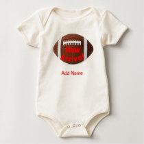 Newborn Clothes Custom American Football Onsies Baby Bodysuit