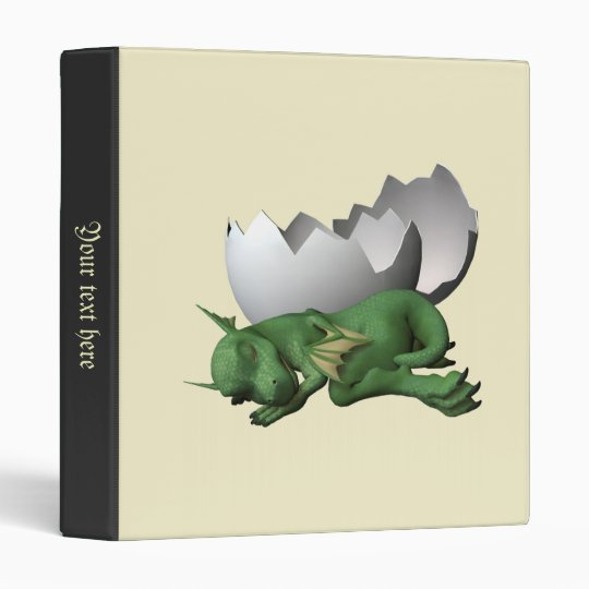 Newborn Dragon Binder