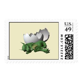 Newborn Dragon Postage
