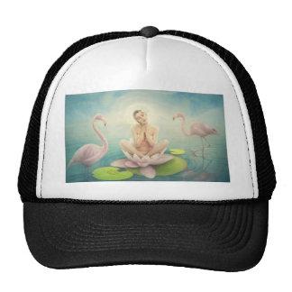newborn fairy water lilly white light pink trucker hats