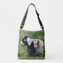 Newborn Goats Crossbody Bag