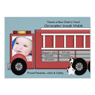 Newborn Hero - Photo Birth Announcement