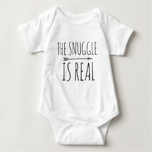 e06b20116 NEWBORN OUTFIT COOL BABY THE SNUGGLE IS REAL BABY BODYSUIT