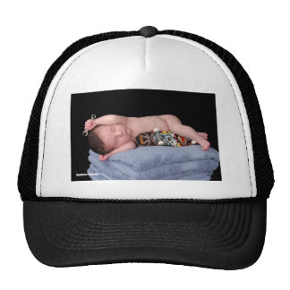 Newborn Skateboard Baby Trucker Hat
